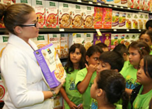 Whole Foods Marketing Director Natalie White  discusses the benefits of natural food cereals  with children.